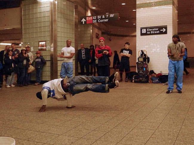 Balancing act, 42nd Street
