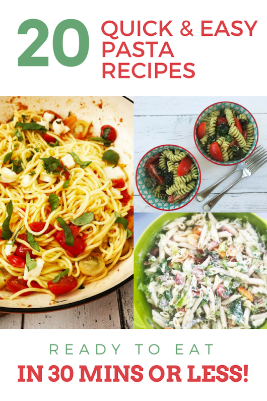 Quick and Easy Pasta Recipes Ready in Under 30 Minutes | Daisies & Pie