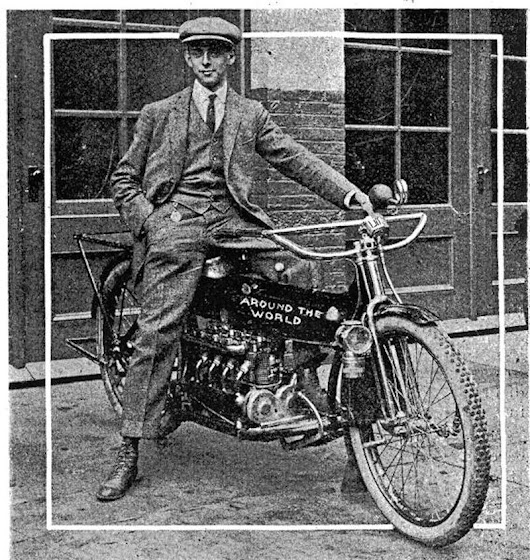 Carl Stearns Clancy: The first person to motorcycle around the world