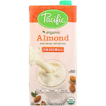 Pacific Natural Foods Almond Original - Low Fat - 32 Fl Ounce -PACK 12