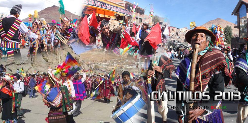 Chutillos 2013 en Potosí Bolivia