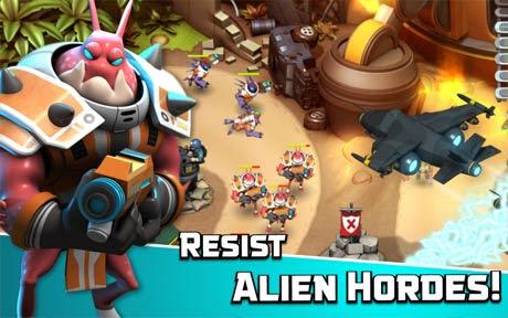 Alien Creeps TD V2.14.1 Apk + Mod for android