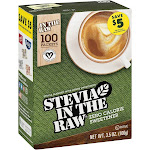 Stevia in the Raw Sweetener, Zero Calorie - 100 packets, 3.5 oz
