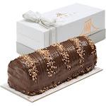Fames Zebra Halva Dark Chocolate Log – Handcrafted With Deluxe Gift Box