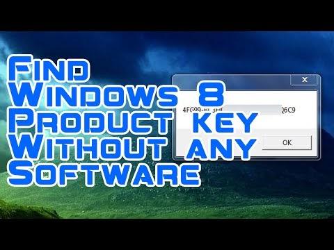 how do i find windows product key