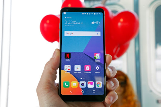 LG G6 Hands on: return to the competition, with awesome specifications.