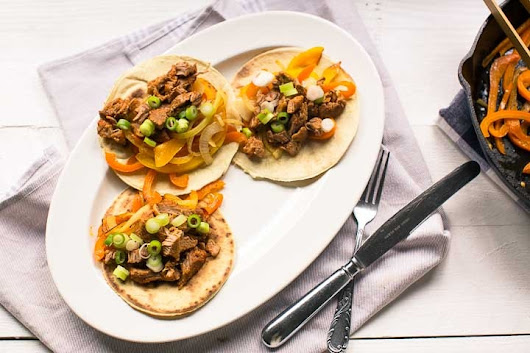The most spectacular pork shoulder fajitas - The Tortilla Channel
