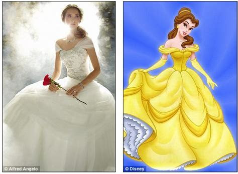 The dream becomes reality: Disney and bridal gown designer