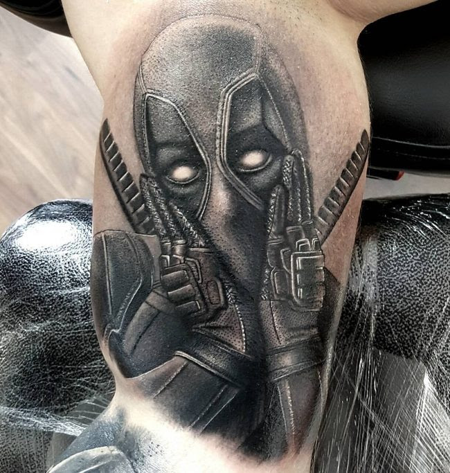 70 Dashing Deadpool Tattoo Designs Redefining Deadpool With Ink