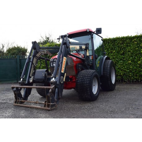 Used 2005 McCormick F60 Compact Tractor With Stoll Loader For Sale