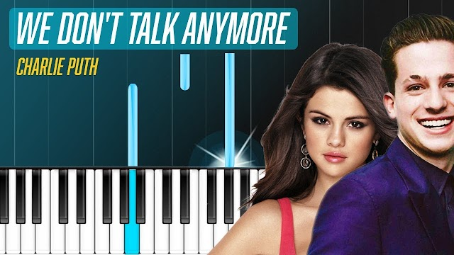We Don't Talk Anymore lirik