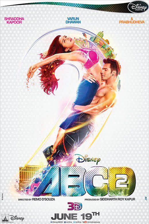 ABCD - Any Body Can Dance - 2 HINDI (BOLLYWOOD) MOVIE MP3 Songs 2015
