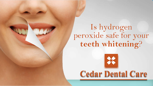 Is hydrogen peroxide safe for your teeth whitening?