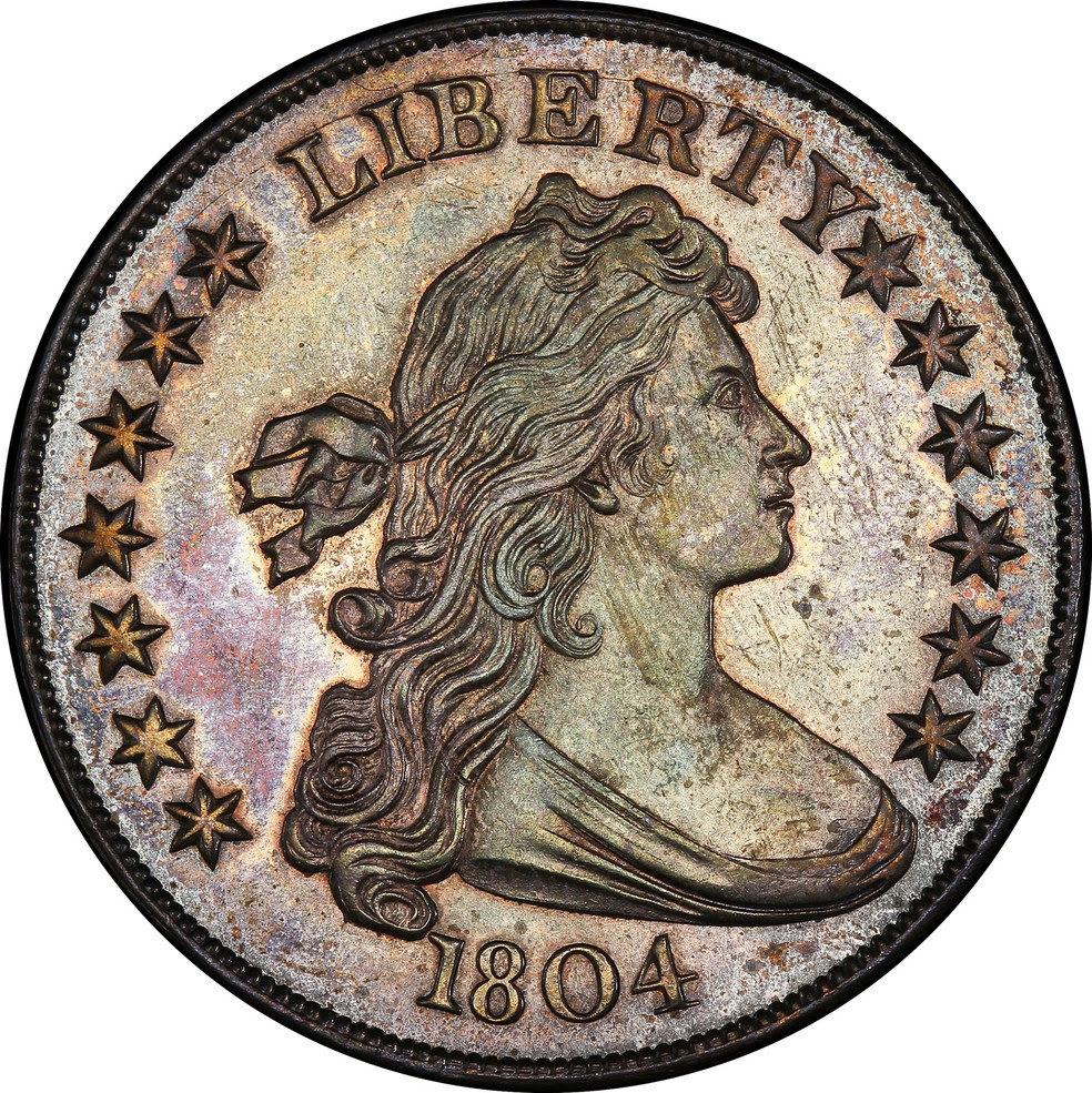 Moeda de dólar de 1804. (Foto: Reuters)