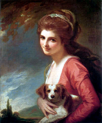 lady-emma-hamilton-george-romney