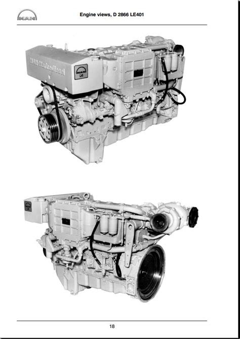 Man ebook,soft: [Other] MAN Marine Diesel engine D2866LE