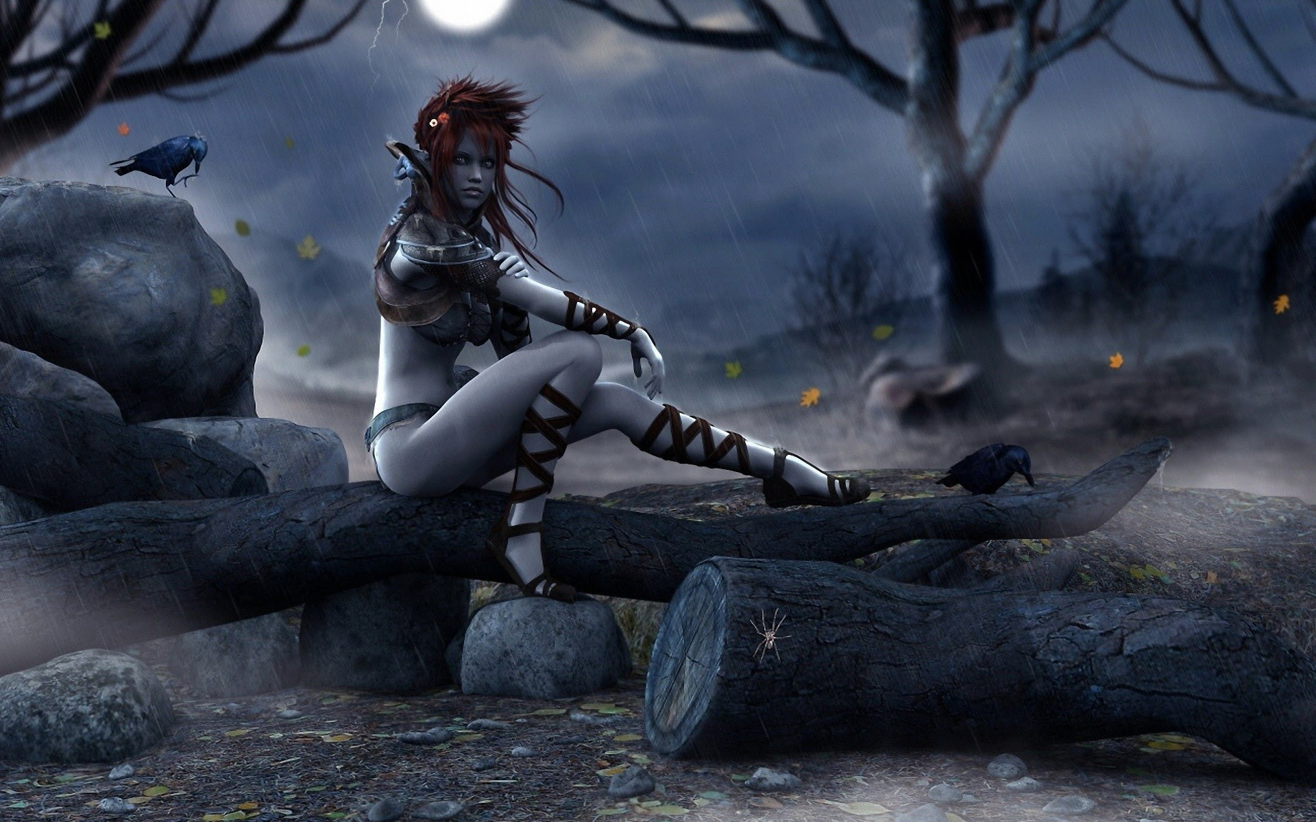 fantasy Art, Witch, Artwork Wallpapers HD \/ Desktop and Mobile Backgrounds