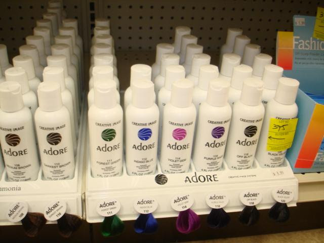 Adore Creative Image Semi Permanent Hair Color Products Assorted