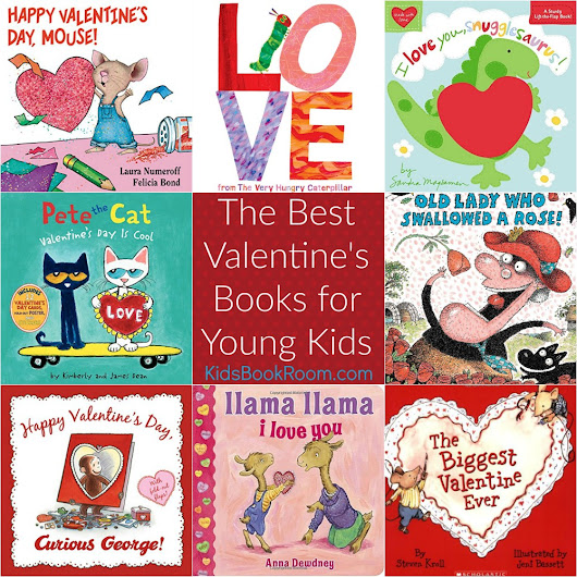 The Best Valentine's Books for Kids - Read Alouds for Ages 3-8