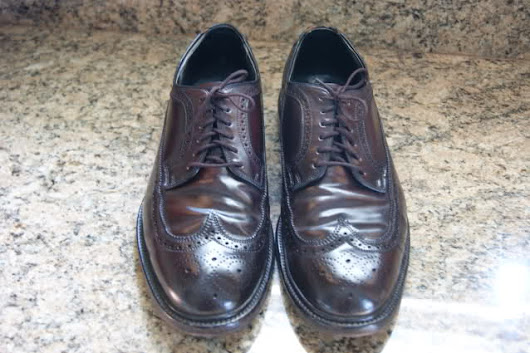 How to identify shell cordovan leather?