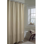 Maytex Fabric Shower Curtain Liner - 70x71 inches Beige