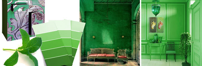 decoracion verde