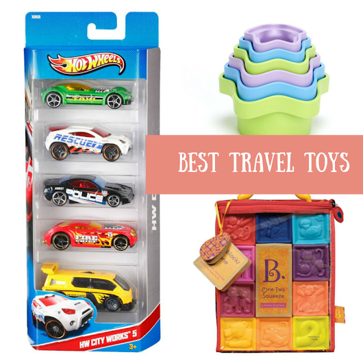 Best Toys for Travelling - from Babies to Preschoolers - HEN Family