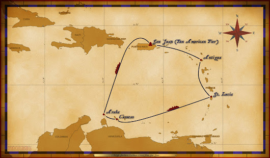 Personal Navigators: 7-Night Southern Caribbean Cruise on Disney Wonder - January 14, 2018 • The Disney Cruise Line Blog