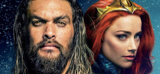 Aquaman : Arthur Curry et Mera font la couverture de Total Film