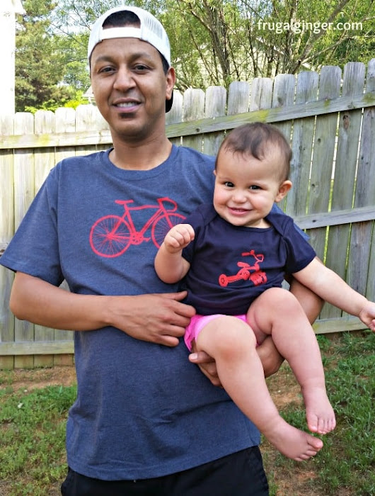 Adorable Daddy and Toddler Matching Tees (+ Giveaway) - The Frugal Ginger