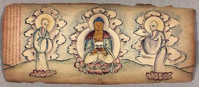 Buddhist iconic figures