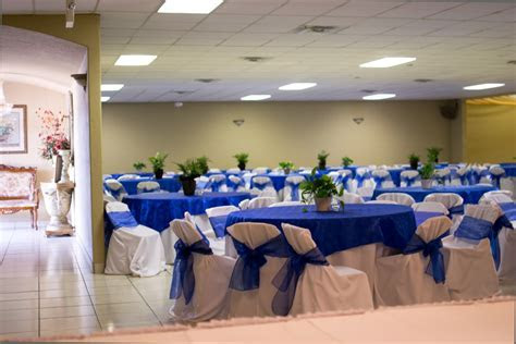 Rincon Real Hall Decorations: wedding anniversary reception