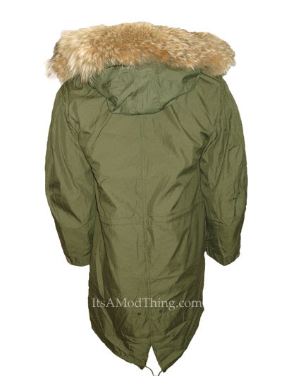 Authentic Mod Fishtail Parka's With Real Fur Hoods