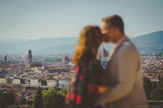 Engagement photography in Florence Italy: Deb & Jeremy -