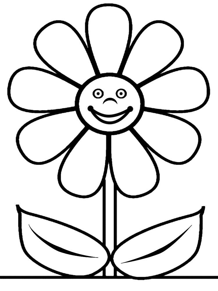 Descargar Gratis Dibujos Para Colorear Flores
