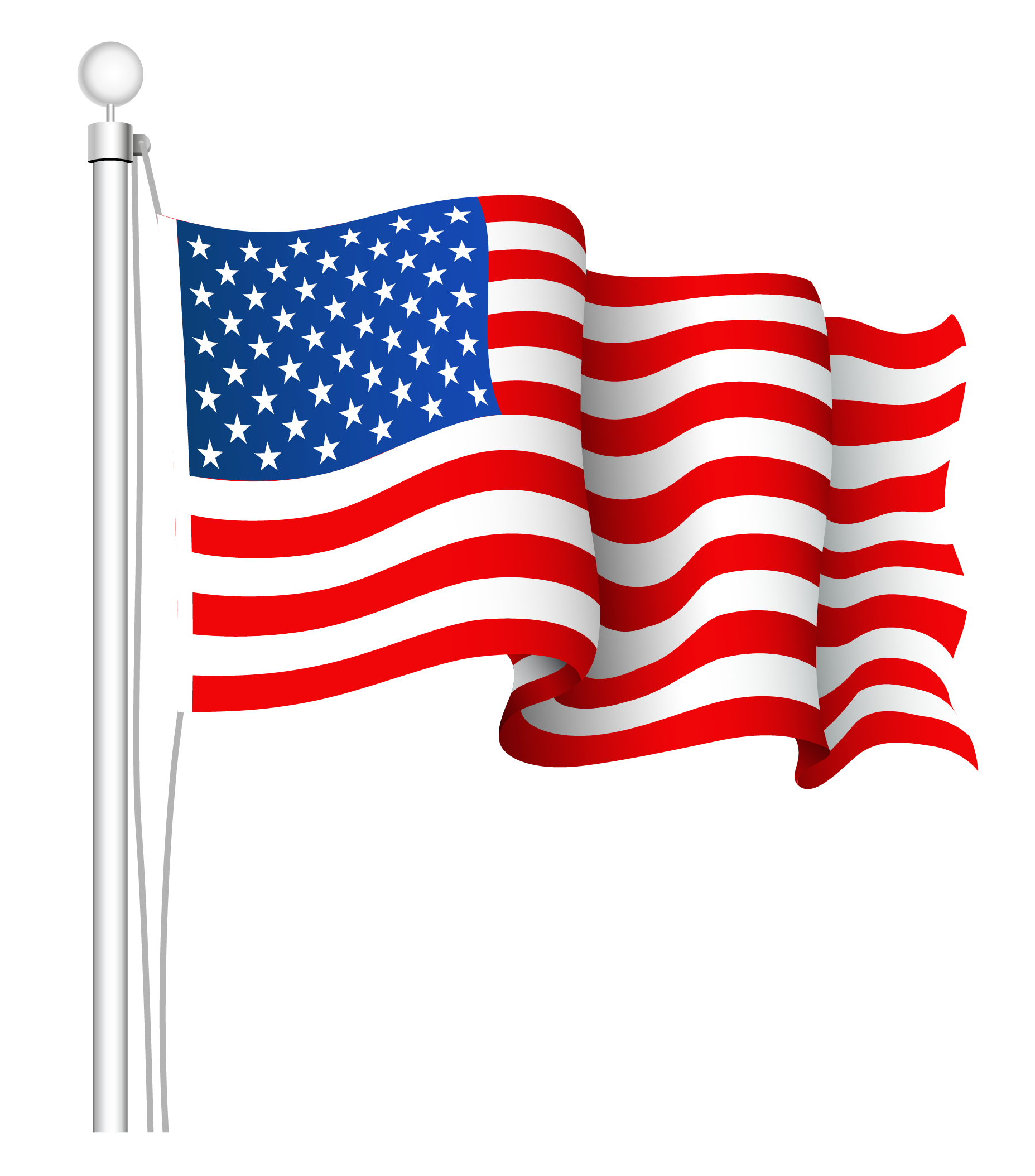 USA flag PNG - PNG image with transparent background