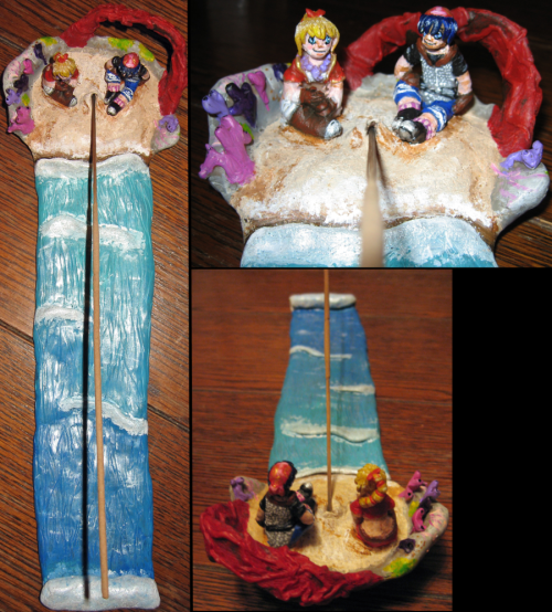 Opassa Beach Incense Stick Holder by ~xTattooedHeartThis is so awesome~!!! :D