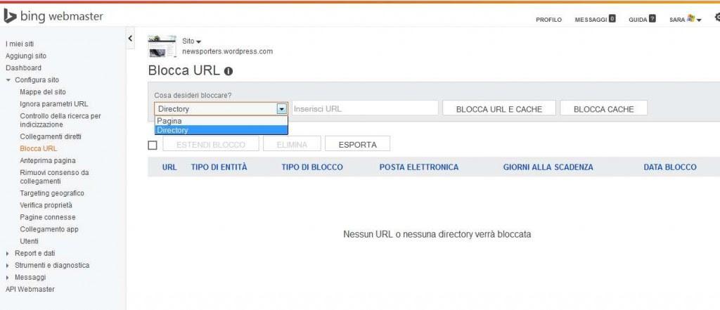 Blocca URL_1