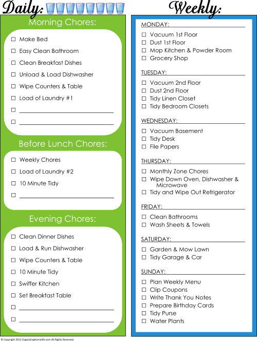 COMPLETE 60 Page Home Management Binder - Organizing Homelife