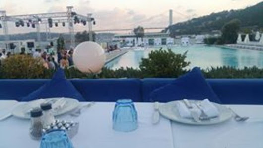 On the left Europe, on the right Asia. You dine in the middle of two continents. Luis Doporto - Picture of Suada Club, Istanbul - TripAdvisor