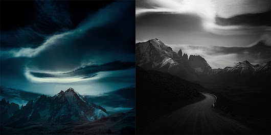 Moody Infrared Photos of Patagonia's Dramatic Landscape
