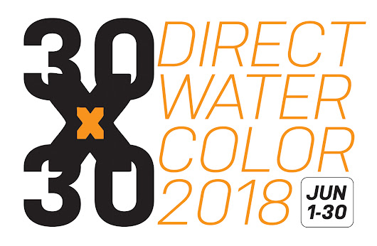 Announcing: #30x30DirectWatercolor2018! Lets do 30 Paintings in 30 Days!