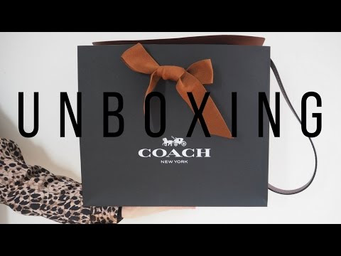 Coach Saddle Bag Unboxing & First Impressions