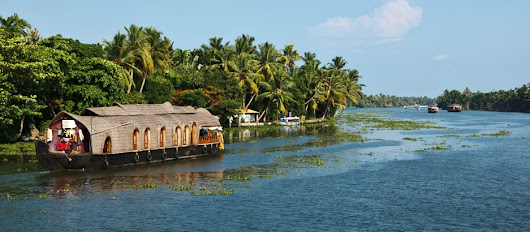 Kumarakom, the famous backwater tourism destination in Kerala