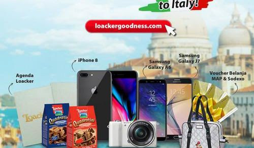 Kontes Foto Share The Goodness Berhadiah Liburan Ke Italia, Iphone 8 Dll