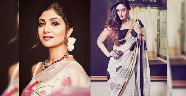 5 printed saris you can wear this summer feat. Shilpa Shetty and Kareena Kapoor Khan