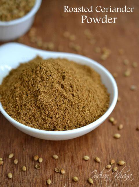 Homemade Roasted Coriander Seeds (Dhaniya) Powder Recipe