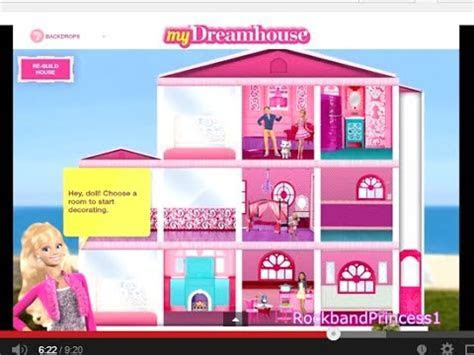 Barbie Life in The Dreamhouse Barbie Games for Girls and