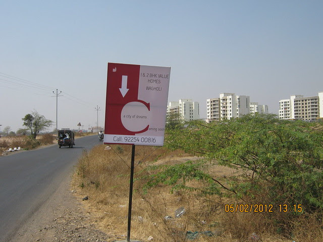 Ad of one more upcoming project on Kesnand Road - Alfa Life Scapes, 2 BHK & 3 BHK Flats, on Wagholi Kesnand Road, Wagholi, Pune 412 207