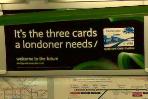 Barclaycard Oyster card